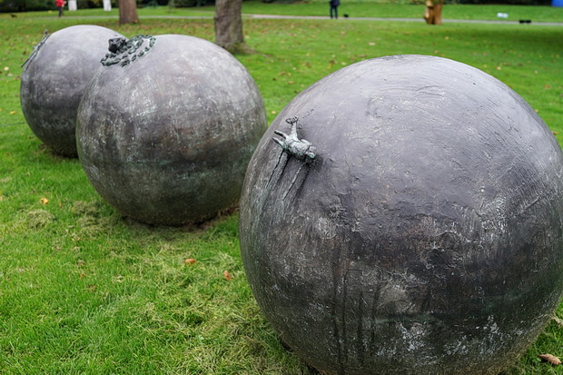 Last chance to see the Frieze Sculpture Park 2017 in Regent's Park, London, October 2017