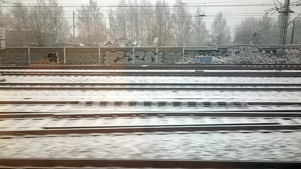 Frosty scenes across Germany 13 photos