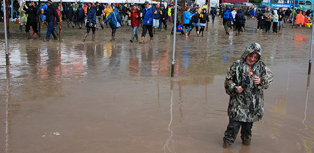 Great Glastonbury Festival mudfests of the past
