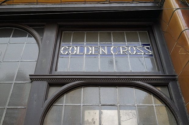 Glazed tiles, Grade II listing and drag acts: the wonderful Golden Cross pub in Cardiff