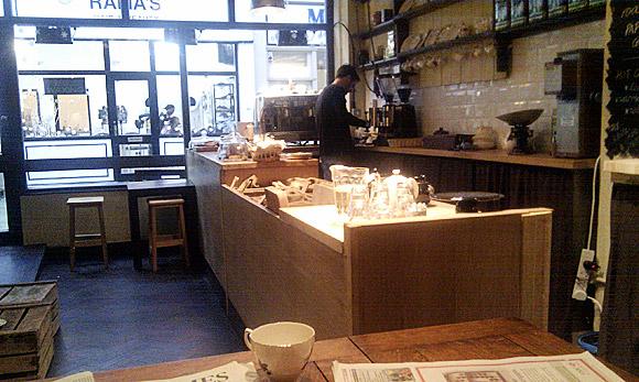 Coffee at Goodbench, Brixton