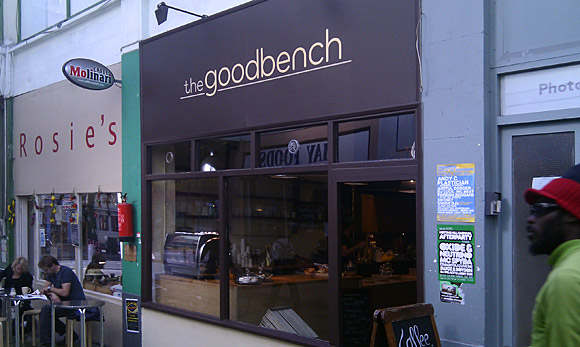 The Goodbench - another great Brixton coffee bar