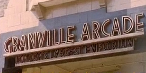 Granville Arcade, 1961: 'London's Largest Emporium'