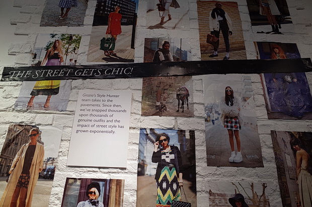 Grazia 10 years - exhibition at the Getty Gallery, 46 Eastcastle Street, London, W1W 8DX, March 2015
