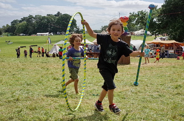 Green Gathering 2016 in photos. Part one: daytime scenes around the site, Chepstow, Wales, August 2016