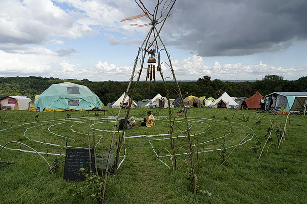 Green Gathering 2017 in photos - scenes around the festival site, August 2017