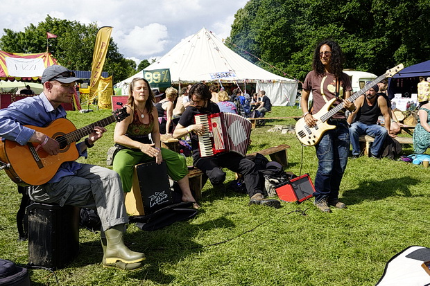 Green Gathering 2017: musicians and performers - in photos, Chepstow, Wales, August 2017