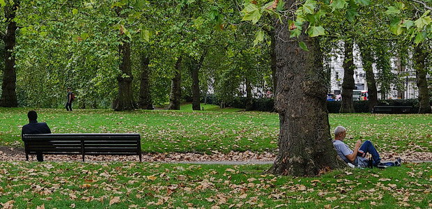 London art walk: Green Park to Hyde Park and the Serpentine, late summer 2018