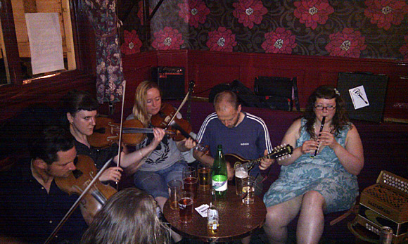 Feast of fiddles at The Grosvenor, Stockwell