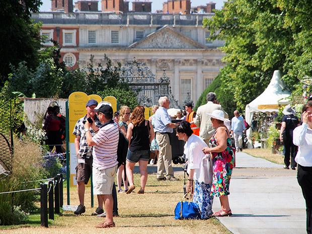 Photos of RHS Hampton Court Palace Flower Show, Hampton Court, London, Monday 8th July 2013