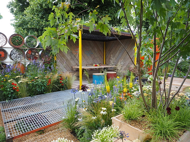 Photos from the RHS Hampton Court Palace Flower Show 2014, Hampton Court, London, July 2014