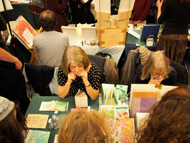 Handmade And Bound, affordable London book-art and zine fair, St Bride Foundation, Fleet Street, London 18th November 2012