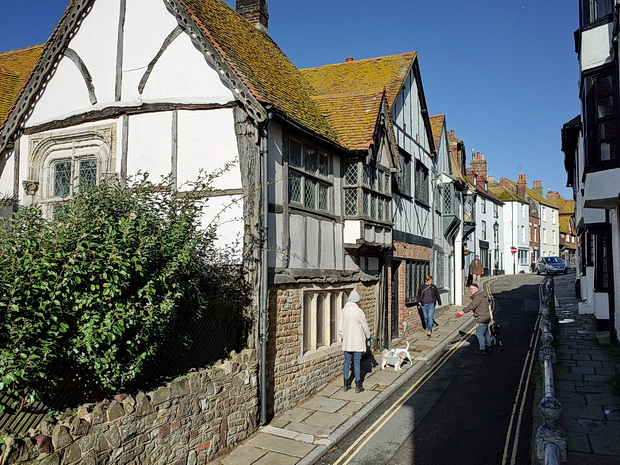 Sixty photos of Hastings: Old town, beach, boats, shops and historic architecture