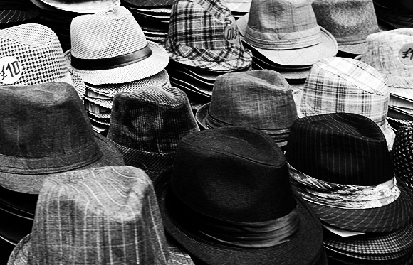 Pic of the day: Hats, Covent Garden