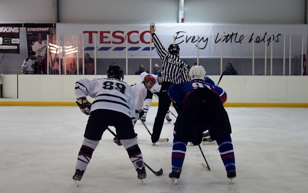 Wolves versus Statesmen ice hockey match, Brixton Ice Rink, Sat 12th January 2013