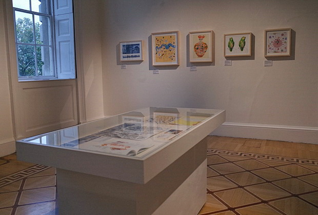 AOI World Illustration Awards Exhibition at Somerset House, London October 2015