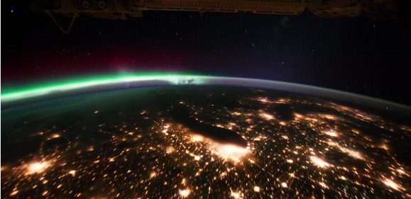 Astonishing NASA time lapse video from the International Space Station