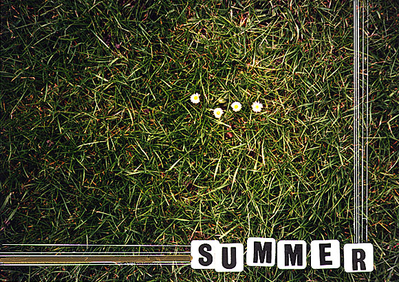 It's Summer! Some of my old art school work...