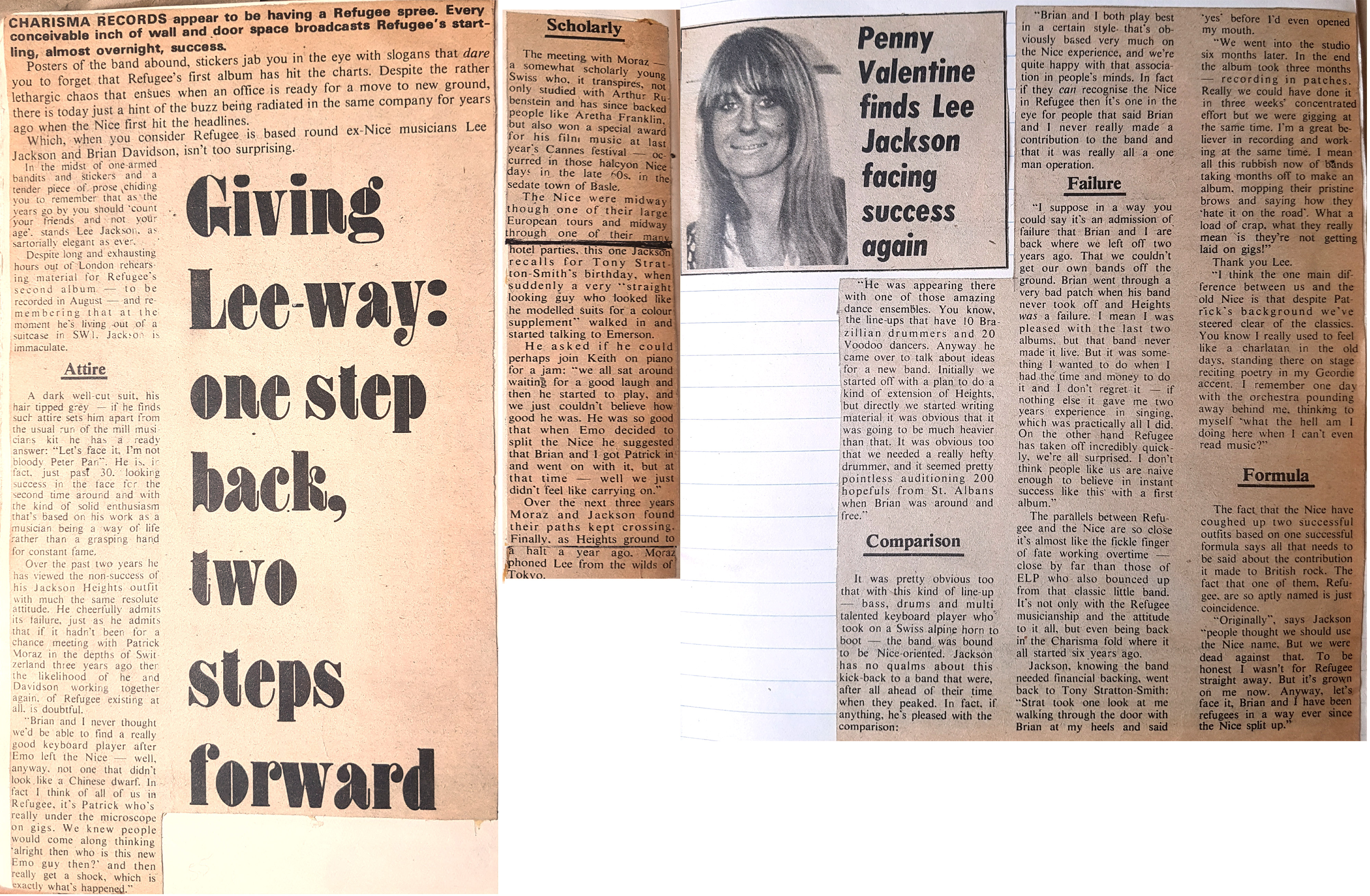In praise of the 1970s obscure: Press cuttings for Jackson