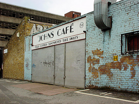 Lost Brixton: Brixton Station Road market and John's Cafe