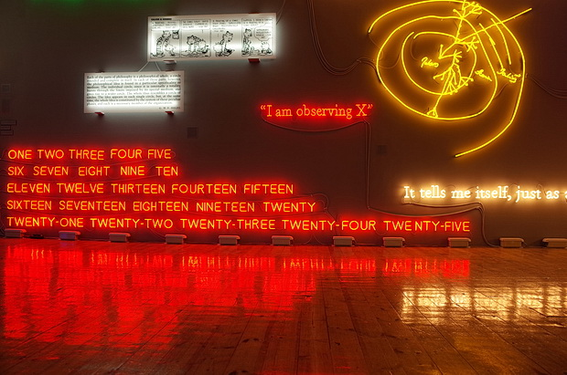 A dazzling display of neon art: Amnesia: Various, Luminous, Fixed at Sprüth Magers, London, February 2015