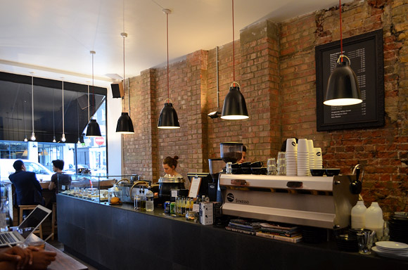 Kaffeine coffee bar, Great Titchfield Street, London, W1W 7QJ - review