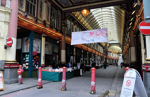Sunday Social at Leadenhall Market, London EC3