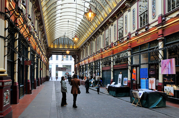 Sunday Social at Leadenhall Market, London EC3