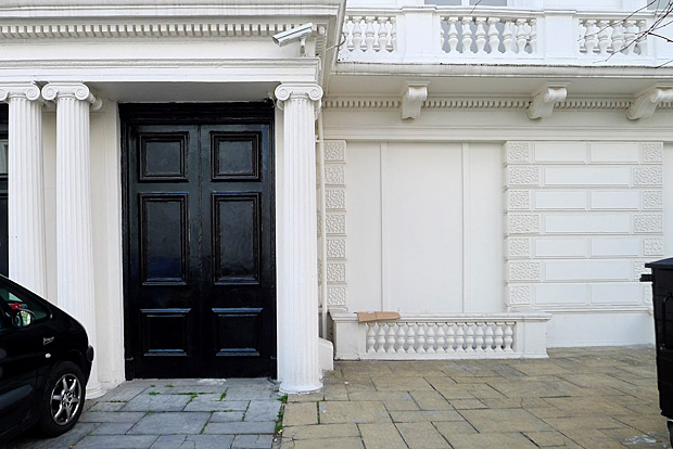 The Fake Houses At 23 And 24 Leinster Gardens Bayswater London W2
