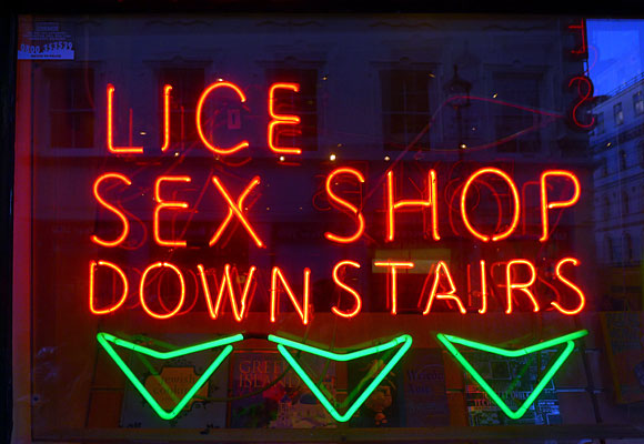 'Lice Sex Shop' and other West End scenes