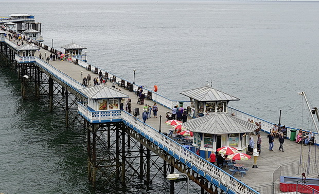 Llandudno Pier: a cracking, Grade II listed Victorian pier in north Wales