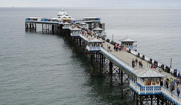 Llandudno Pier: a cracking, Grade II listed Victorian pier in north Wales
