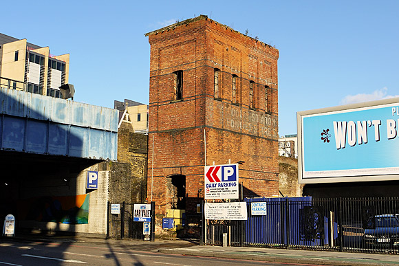 LMS City Goods Station and Bonded Stores, Royal Mint St, E1