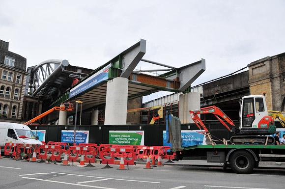 London Bridge rail redevelopment continues