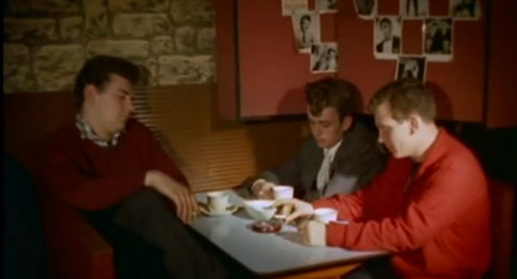 London's coffee bars in the 1950s and 1960s - video footage