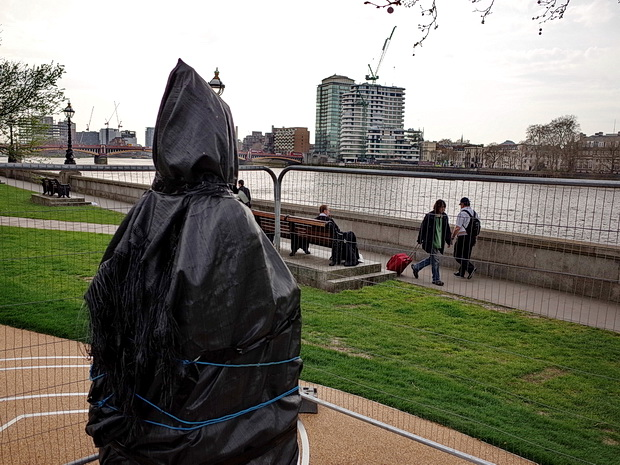 London in Spring - scenes by the River Thames and around the city, April 2015