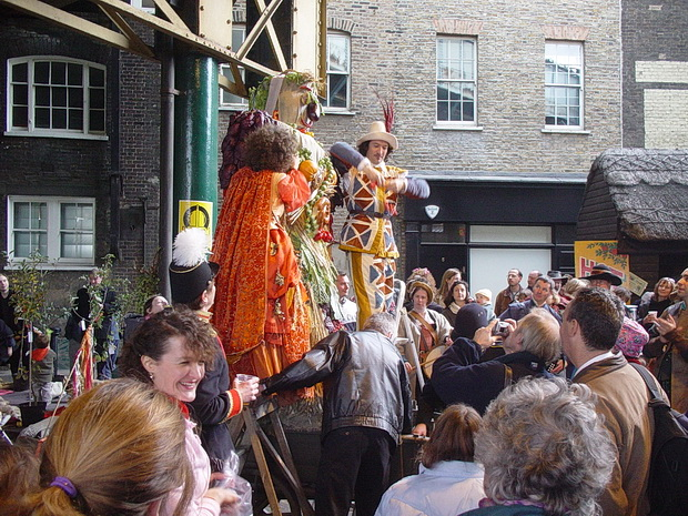 London 15 years ago: Soho street scenes, the Tate's Weather Project and St Pancras, October 2003