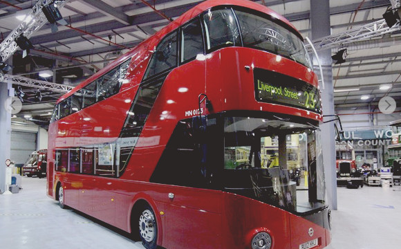 New London Routemaster unveiled as a full size model