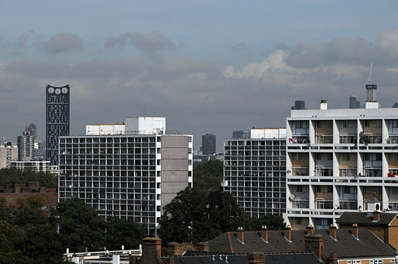 The changing London skyline: Brixton views