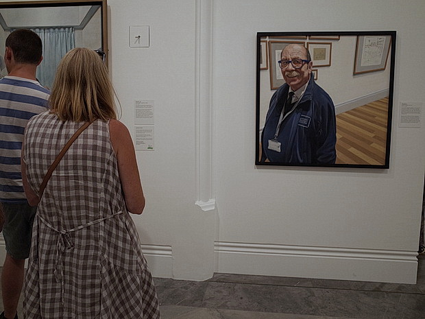 London photos: BP Portrait Prize, street scenes and sculptures, July 2018
