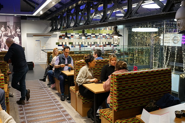 In photos: London Transport Museum opens Canteen, a cafe/bar in the heart of Covent Garden