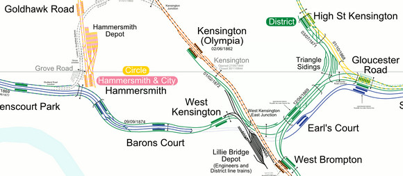 Fantastic London Transport Map Is A Rail Buff S Delight