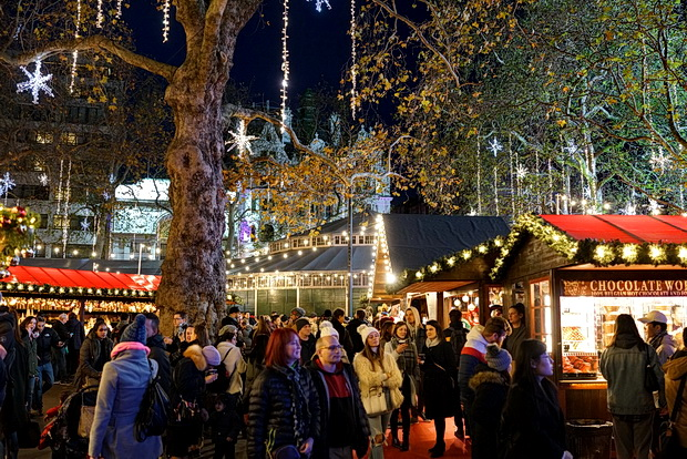 In photos: London Christmas lights: Regent Street, Leicester Square and Carnaby Street