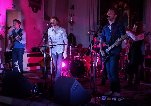 Lost Cavalry 'Three Cheers For The Undertaker' album launch with Sophie Jamieson at the St Pancras Old Church, London NW1, 18th September 2013