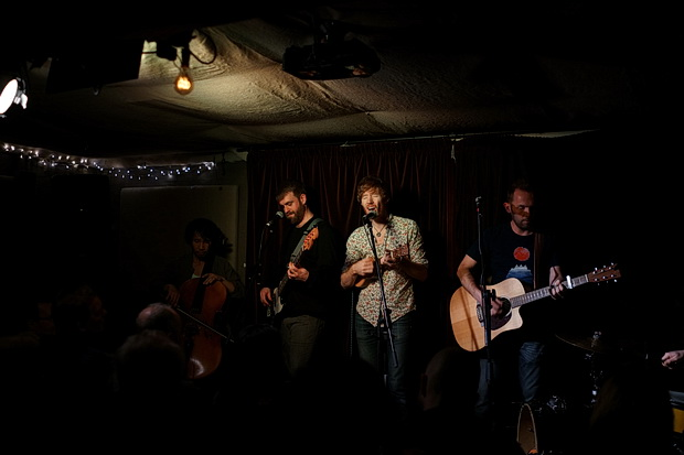 In photos: Lost Cavalry at Folkroom, Kings Cross, Wednesday 14th February 2018