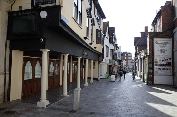 Photos around the town centre of Maidstone, Kent, southern England, UK