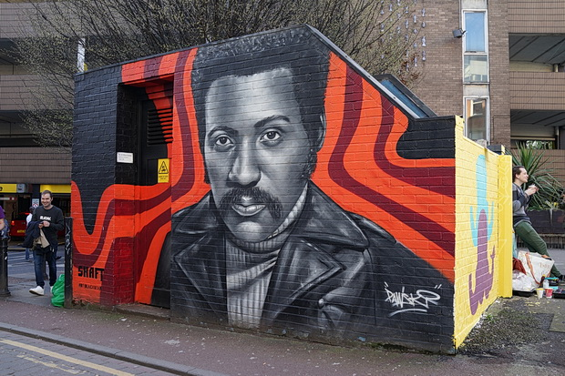 Manchester photos: street art, Gullivers, Canal Street and the Monochrome Set