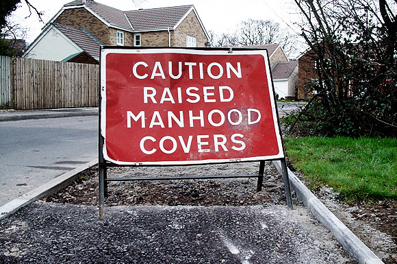 Photo of the day: raised manhood covers