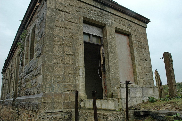 In photos: abandoned Marazion station in Cornwall, as seen in 2005