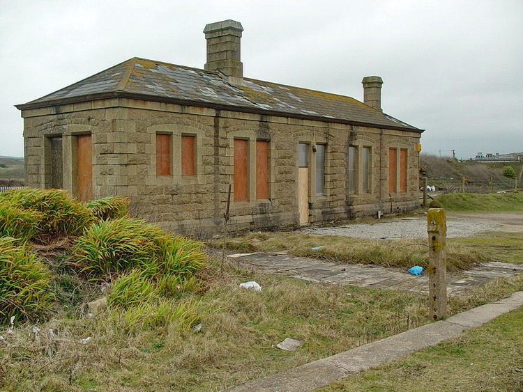 In photos: abandoned Marazion station in Cornwall, as seen in 2003